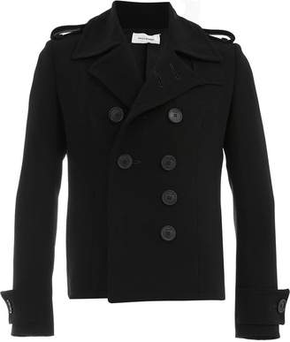 Wales Bonner double breasted short coat