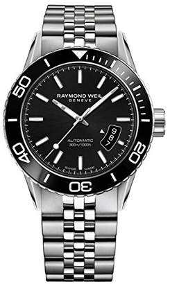 Raymond Weil ' Freelancer' Swiss Automatic Stainless Steel Casual Watch