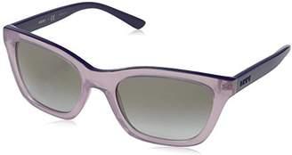 DKNY Women's 0dy4158 Rectangular Sunglasses