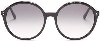 Stella McCartney Round-frame acetate sunglasses