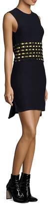 Each X Other Women's Open Back Ribbon Cotton Dress