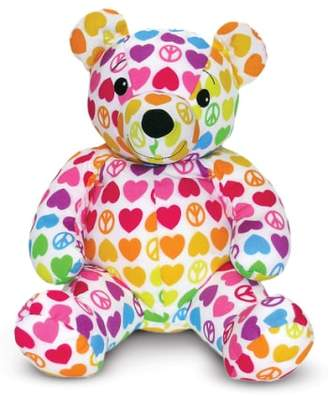 Melissa & Doug 'Beeposh - Hope Bear' Plush Toy