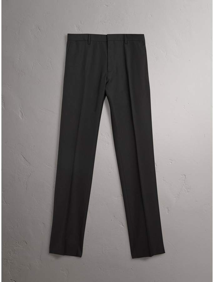 Burberry Modern Fit Wool Trousers