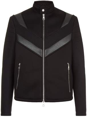 Neil Barrett Funnel Neck Biker Jacket