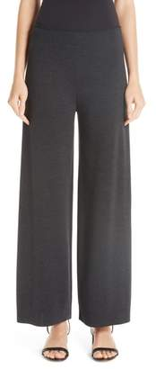 Mansur Gavriel Milano Knit Stretch Wool Trousers