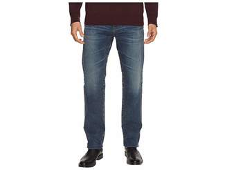 AG Adriano Goldschmied Matchbox Slim Straight Led Denim in 12 Years River Veil Men's Jeans