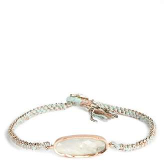 Brooke Gregson Icicle Rose Aquamarine Bracelet