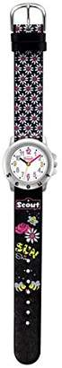 Scout Girls' Wrist Watch, Analogue, Quartz, Faux Leather 280393027
