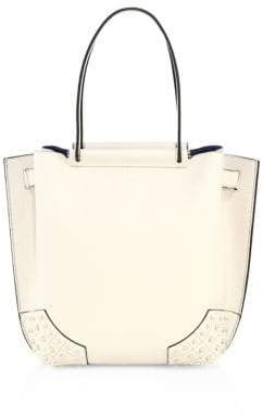 Tod's Wave Small Pebbled Leather Tote