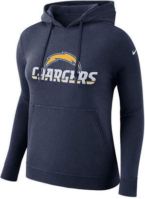 Nike Women Los Angeles Chargers Club Pullover Hoodie