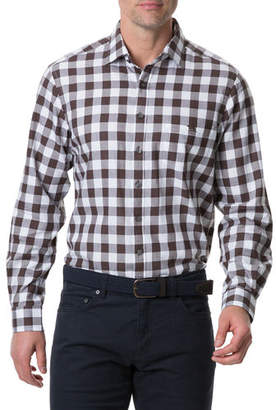 Rodd & Gunn Men's Flints Bush Gingham Check Sport Shirt
