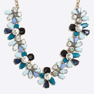 J.Crew Factory Crystal waves statement necklace