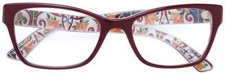 Dolce & Gabbana Eyewear rectangular glasses