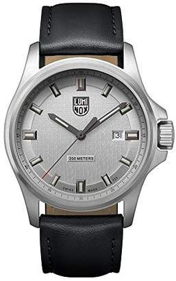 d54334e5b16 Dress Field Men s Quartz watch with Silver dial featuring LLT light  Technology 42 millimeters Stainless Steel case and Black Leather Strap  XL.1839