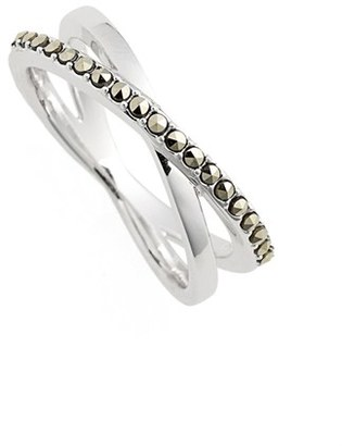 Women's Judith Jack Crisscross Marcasite Ring $65 thestylecure.com