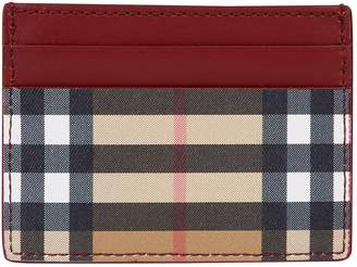 Burberry House Check Card Holder
