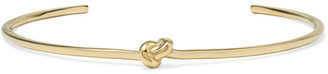Jennifer Fisher - Knot Gold-plated Choker - one size $495 thestylecure.com