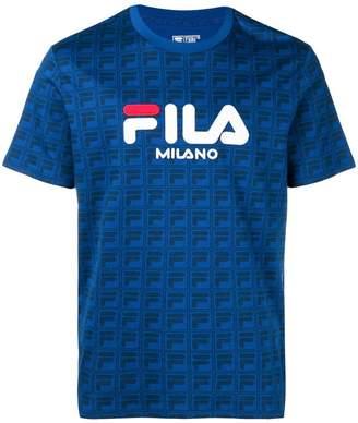 Fila logo crew neck T-shirt