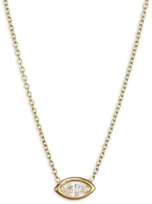 Chicco Zoe Diamond & 14K Yellow Gold Necklace