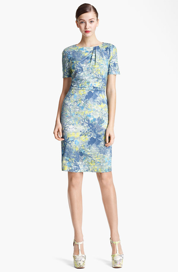 Erdem 'Andrea - Sache Print' Dress