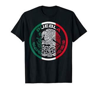 PUEBLA Escudo Mexico Logo T Shirts