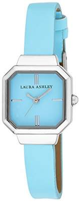 Laura Ashley Women's LA31004BL Analog Display Japanese Quartz Blue Watch $45.14 thestylecure.com