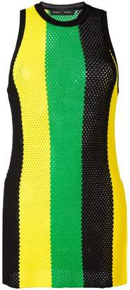Proenza Schouler striped mesh tank top