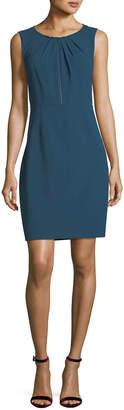 Elie Tahari Jadea Sleeveless Zip-Front Dress