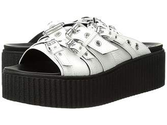 McQ Dusk Eyelet Slide Women's Slide Shoes