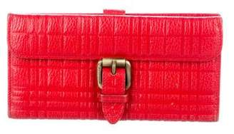 Burberry Quilted Leather Wallet
