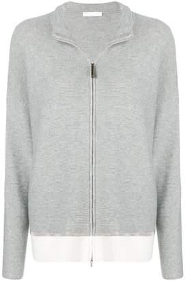 Fabiana Filippi knitted zip jacket