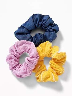 Old Navy Scrunchie Hair-Tie 3-Pack for Women