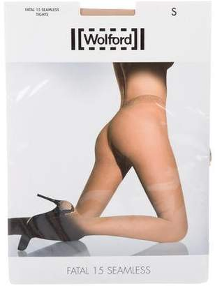 Wolford Fatal 15 Seamless Tights w/ Tags