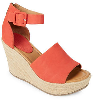 Kenneth Cole Reaction Sole Quest Wedge Sandals $89 thestylecure.com