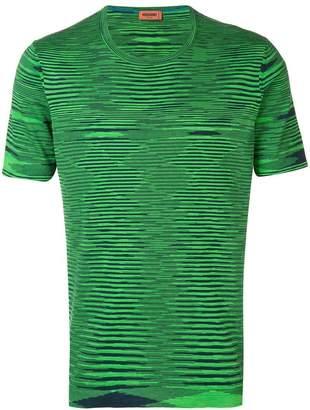 Missoni optic print T-shirt