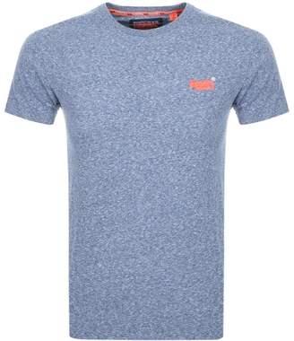 Superdry Vintage Logo T Shirt Blue