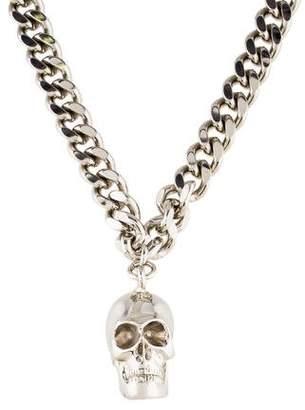 Thomas Wylde Skull Pendant Necklace
