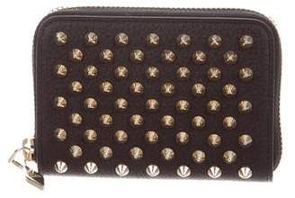 Christian Louboutin Leather Studded Wallet