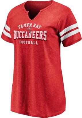 Nfl Women's NFL Tampa Bay Buccaneers Short Sleeve V-Neck Tee