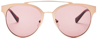 Kenneth Cole Reaction Women's Metal Browline Sunglasses $49.99 thestylecure.com
