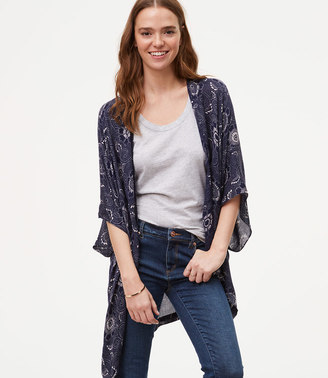 Floral Poncho $49.50 thestylecure.com