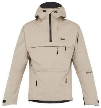 Tilak - Odin Hooded Windbreaker Jacket - Mens - Light Brown