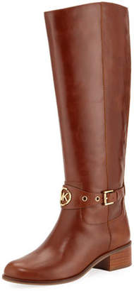 MICHAEL Michael Kors Heather Leather Knee Riding Boots
