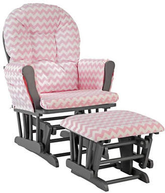 Stork Craft STORKCRAFT Hoop Glider and Ottoman Set