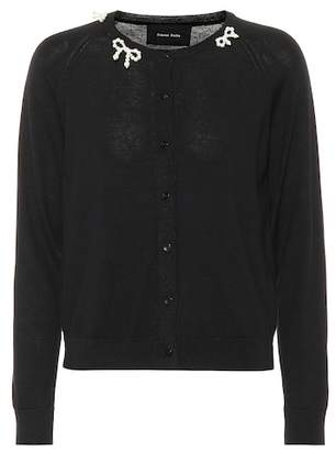 Simone Rocha Wool, silk and cashmere cardigan
