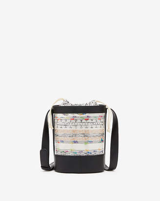 Express Clear Bucket Bag