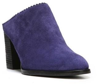 Women's Via Spiga Sophia Block Heel Mule $250 thestylecure.com