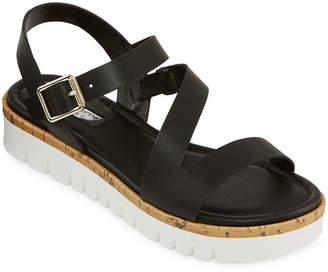Liz Claiborne Womens Burke Heeled Sandals