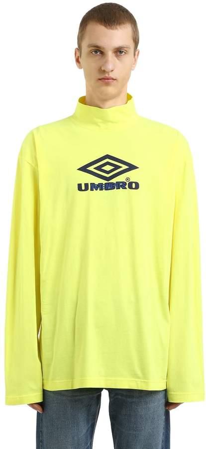 Langärmeliges T-Shirt Aus Jersey