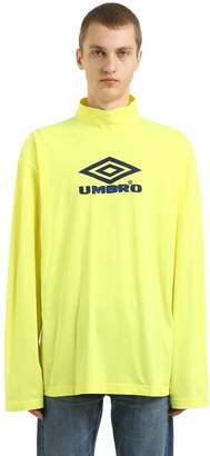 Vetements Umbro Co-Lab Jersey Long Sleeve T-Shirt
